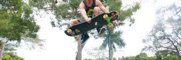 Freestyle longboarding