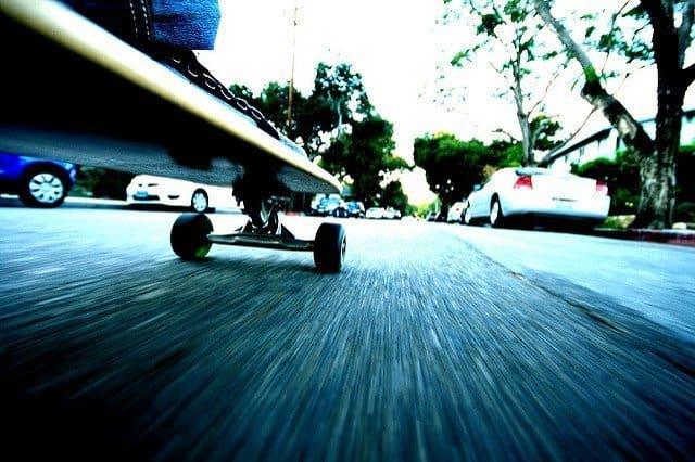 Longboarding as urban transportation