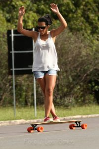 Longboard dancer