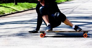 how to powerslide on longboard