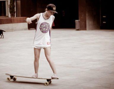 longboard stance