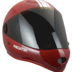 Predator DH6_red downhill helmet