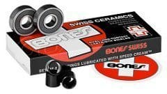 fast longboard bearings bones swiss