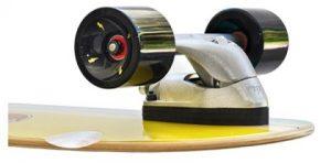 Slide surf skate truck