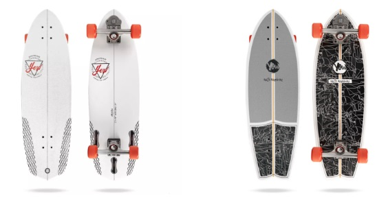 yow surf skateboards