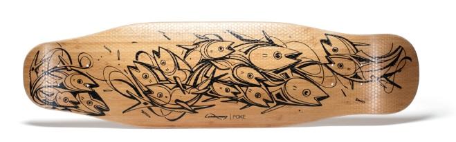 Loaded Poke bottom bamboo veneer