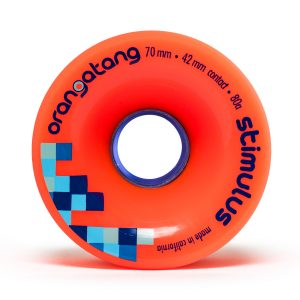 Orangatang Stimulus 70mm 80A wheels