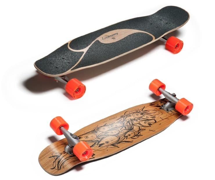 best longboard for carving and pumping - loaded poke