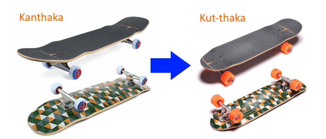 Loaded Kanthaka vs Kut-thaka