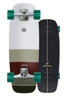 mini simms carver skateboard review