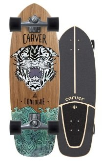 conlogue sea tiger carver skateboard review