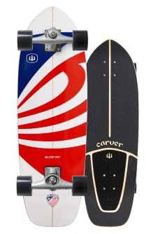 USA Booster carver skateboard