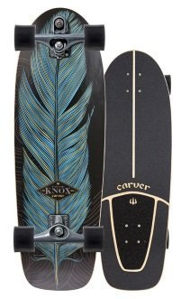 Knox Quill Carver skateboard