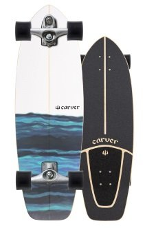 Resin Carver skateboard