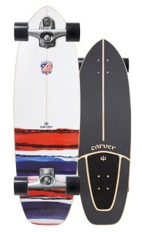 USA team resin carver skateboard