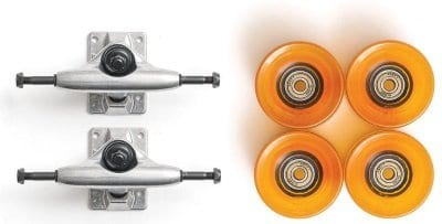 Tensor Slant Trucks and Globe Conical 62mm