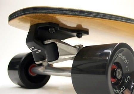 Curfboard surf truck