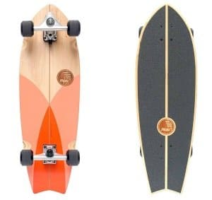 Slide skateboards fish tail
