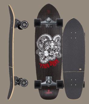 yago skinny goat carver skateboard
