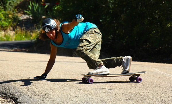 is longboarding hard? freeriding