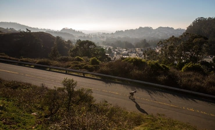 longbarding san francisco - best longboarding spots in the bay area
