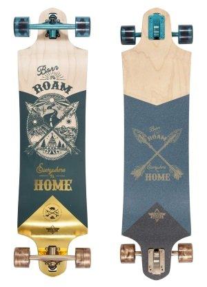 Dusters California Roam longboard