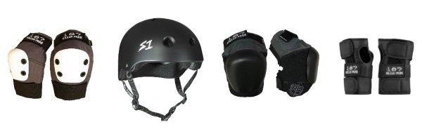 longboard safety gear