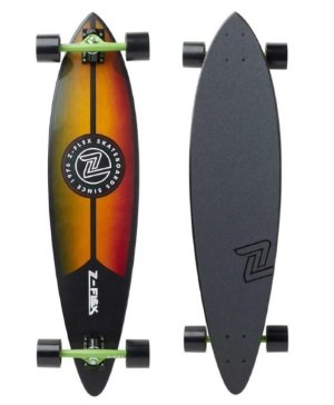 Z-flex pintail longboard review