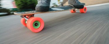average skateboard speed