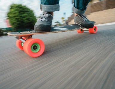 average skateboard speed