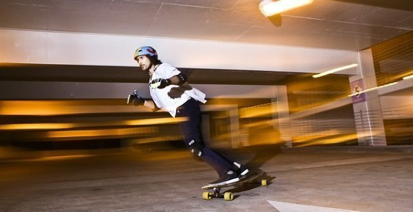 learn to skateboard at 40 - learn to push and turn