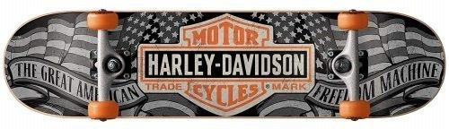 Darkstar skateboards Harley Davidson Freedom review