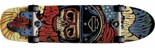 Darkstar skateboards Harley Davidson Legend Cruiser review