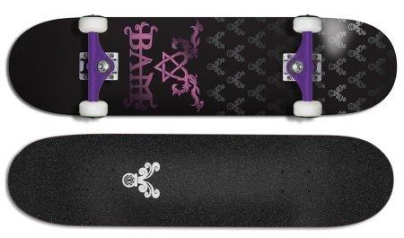 Element skateboard Bam heartgram review