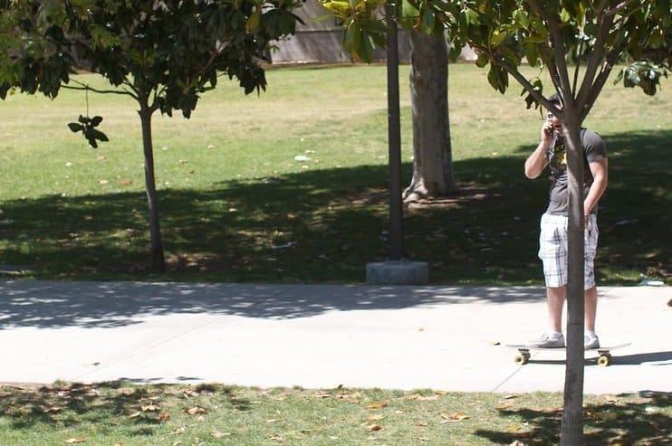 longboarding in college
