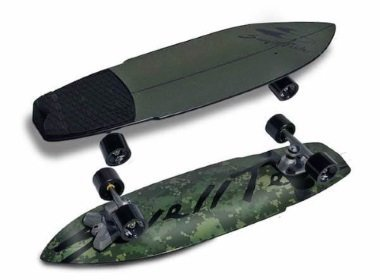 swelltech surfskate hybrid camo review
