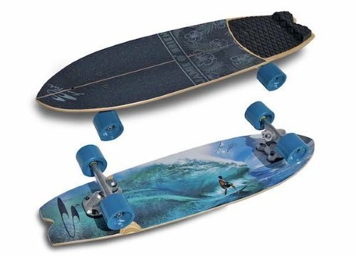 best skateboard for surfing - Swelltech