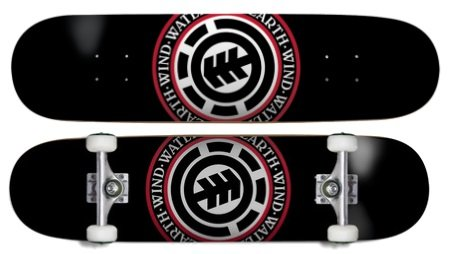 element skateboards seal review