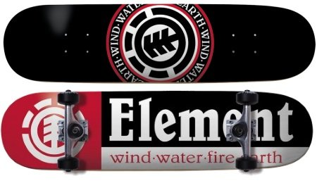 Element skateboards section complete review