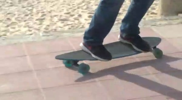 learn to skateboard at 40 - stance and balance