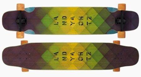 best longboard for tricks landyachtz stratus