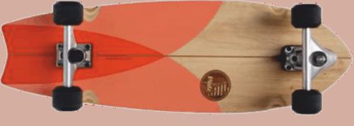 best skateboard for surfing - Slide