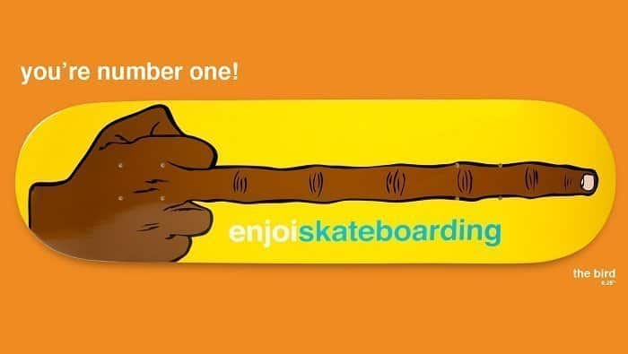 enjoi skateboards review