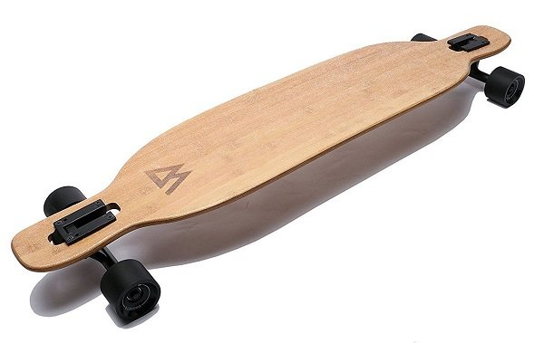 best longboard for all-around cruising - magneto bamboo cruiser 42