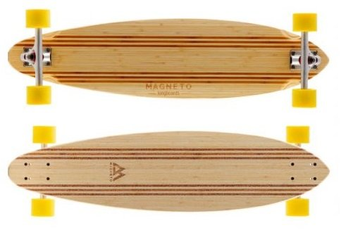 magneto longboard laguna pintail review