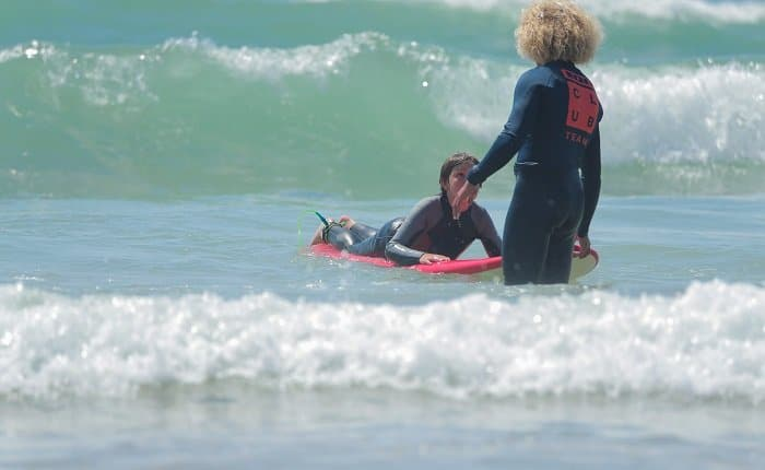 learn to surf on my own