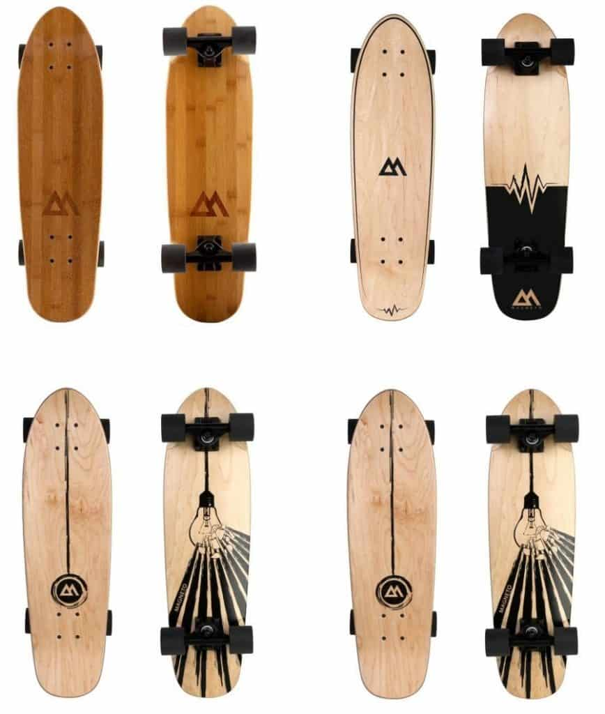 magneto mini-cruiser bamboo and maple versions