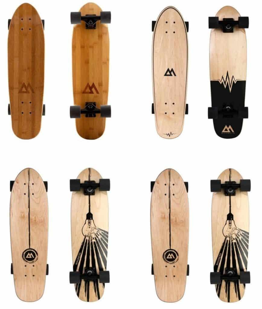 magneto mini-cruiser bamboo and maple versions
