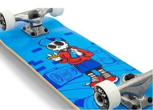 Pink 7.75 x 31 Enuff Skully Complete Skateboard