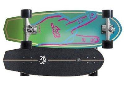 carver skateboards lost plank
